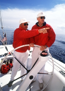 Buddy Melges and Bill Koch