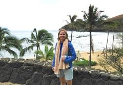 Laura at Hanauma Bay