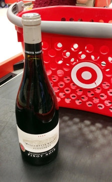 Wine at Target just does not seem right.
