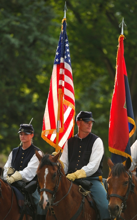 Commanding General's Mounted Color Guard, Fort Riley, Kansas, 22nd June, 2013