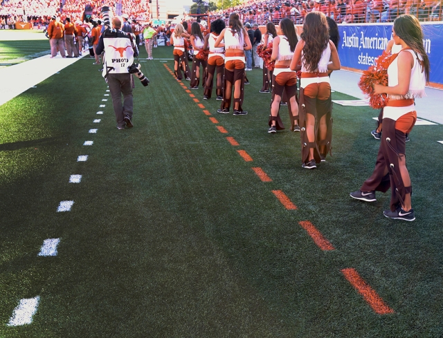 Football at Texas