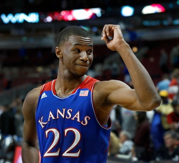 Andrew Wiggins and the Jayhawks shined brightly.