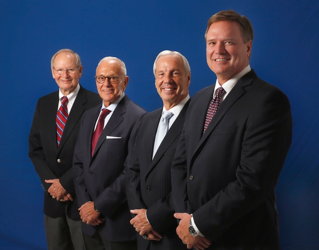 KU coaching legends Ted Owens, Larry Brown, Roy Williams and Bill Self