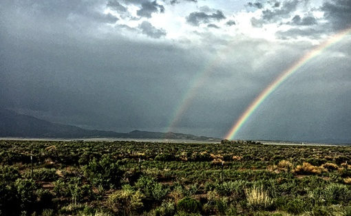 The usual late afternoon storms in Colorado.